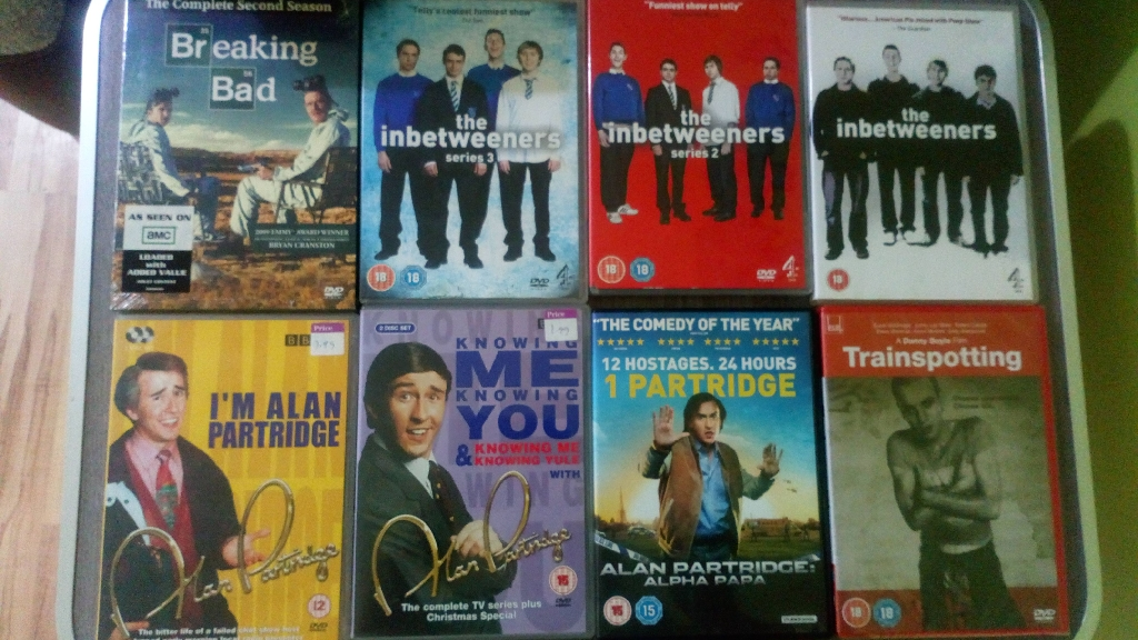 Mixed DVD'S 50p each