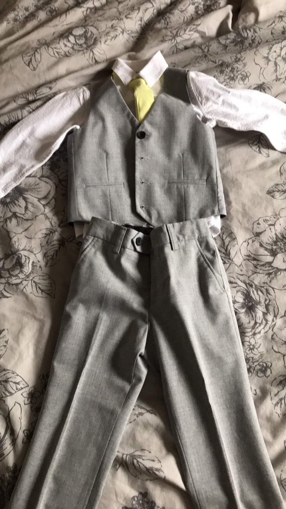 Boys signature suit from next age 4