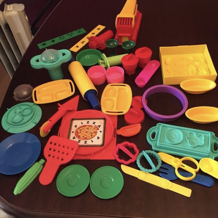 Playdoh Shapes Bundle set