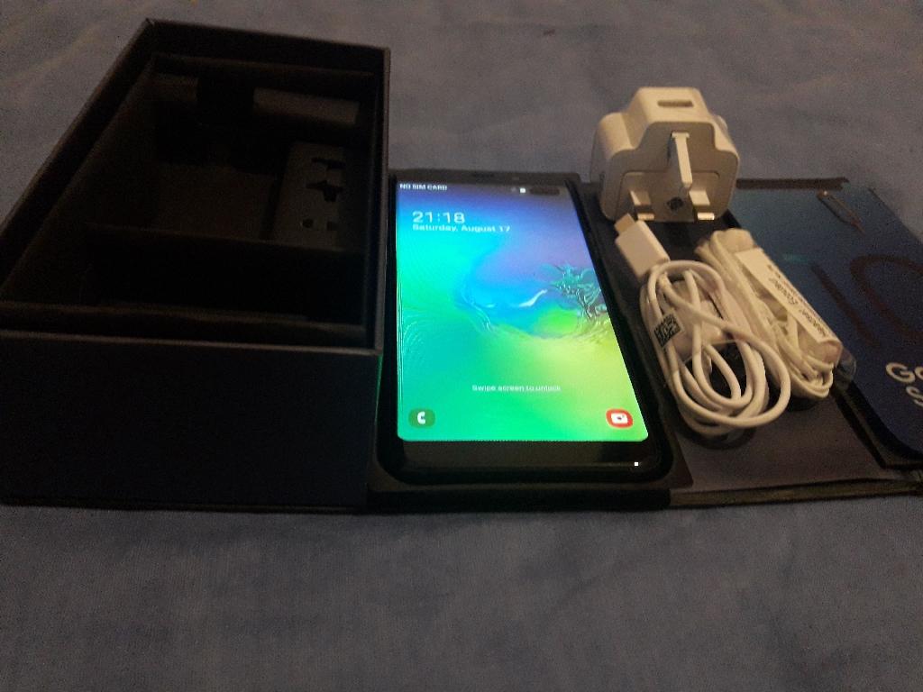New Samsung Galaxy S10 plus