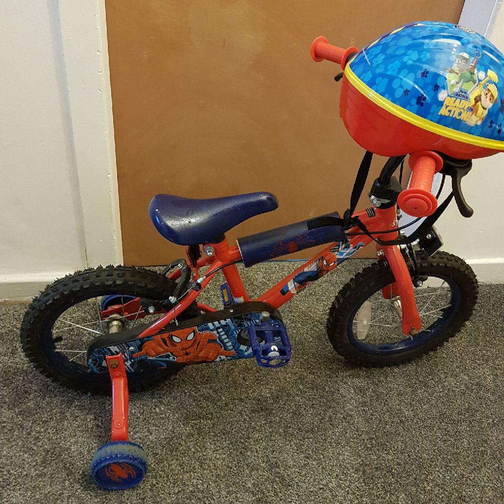 "Boys Spiderman Bike 14"""
