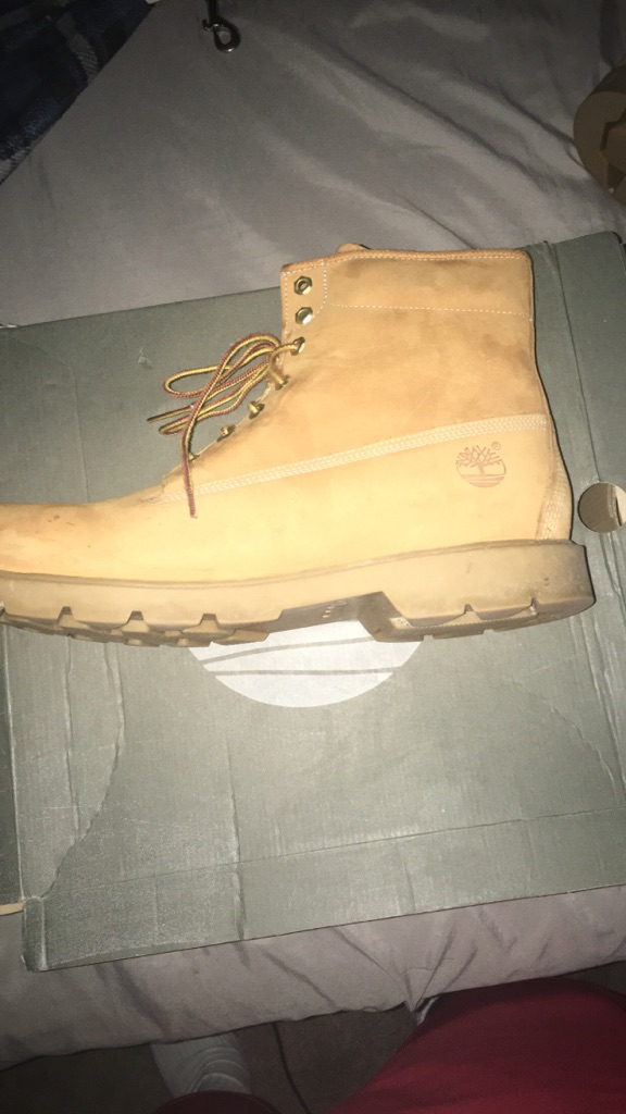 Size 13 Wheat Timberlands