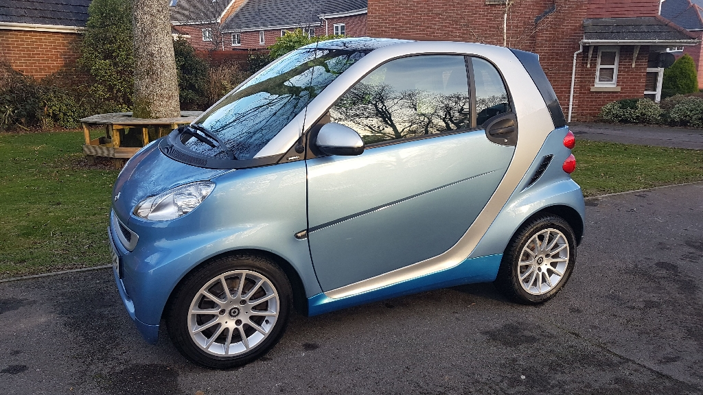 Smart Coupe Fortwo Passion 2011
