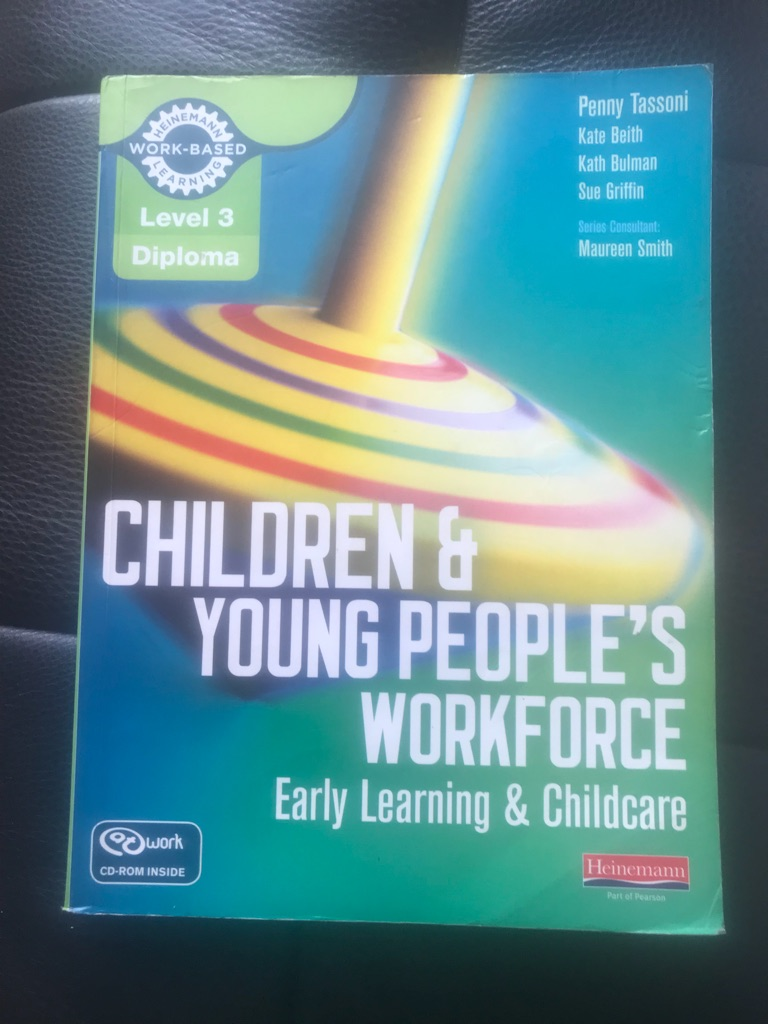 Children and Young People's Workforce Level 3 Diploma Childcare
