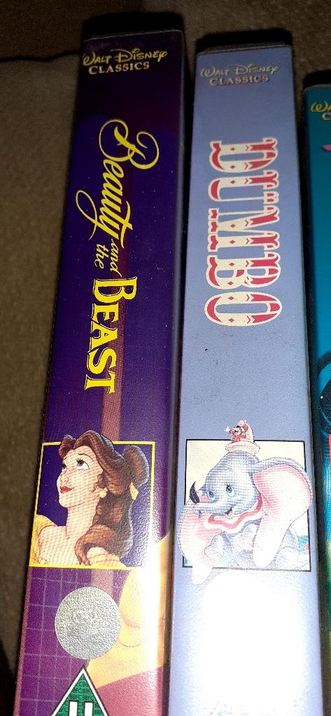 Original Disney videos in very good condition