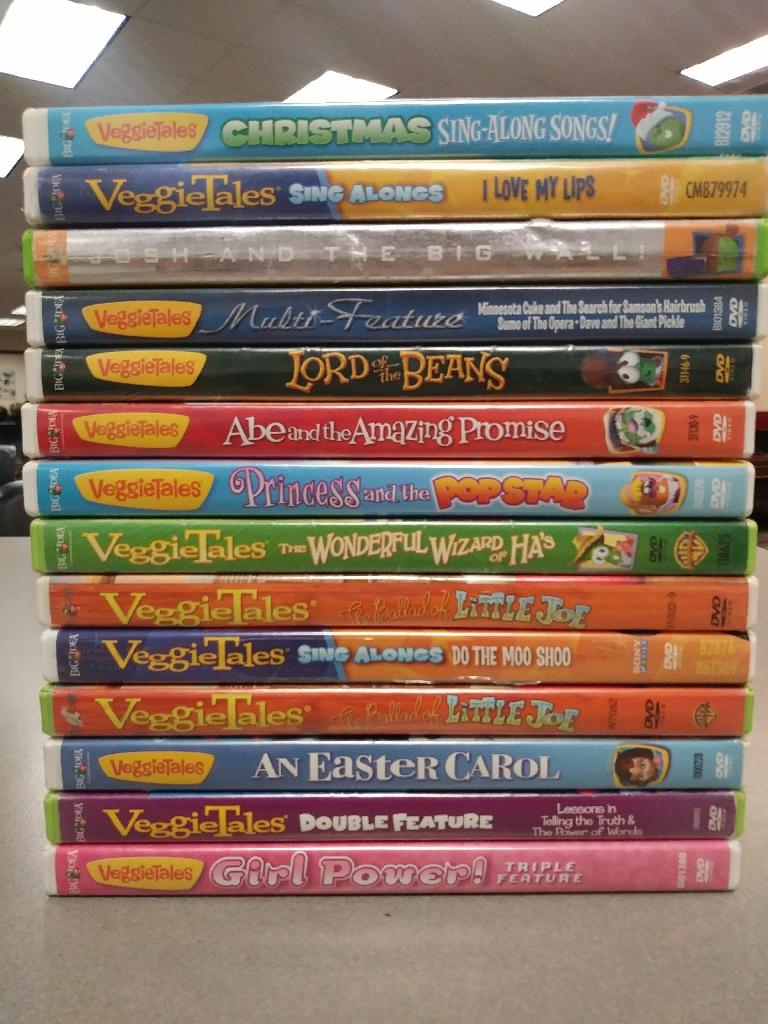 VeggieTales DVDs Set of 14
