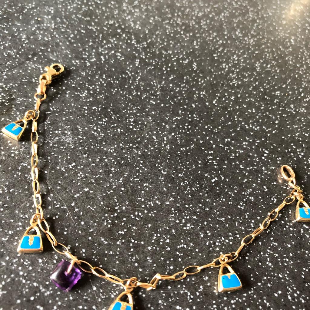9 CT Gold Bracelet hallmarked