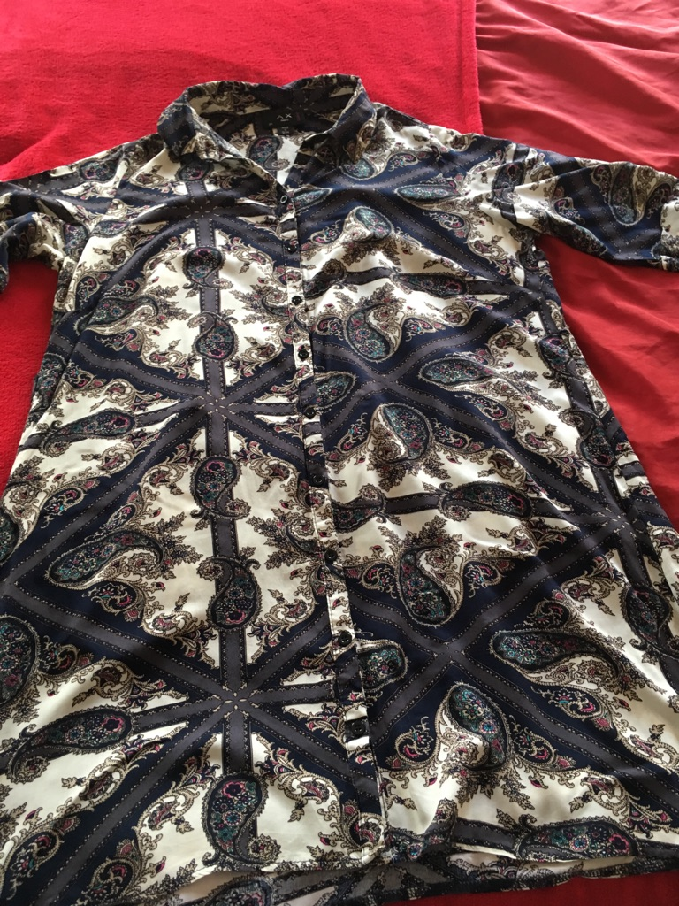Ax paris curve shirt dress size 20