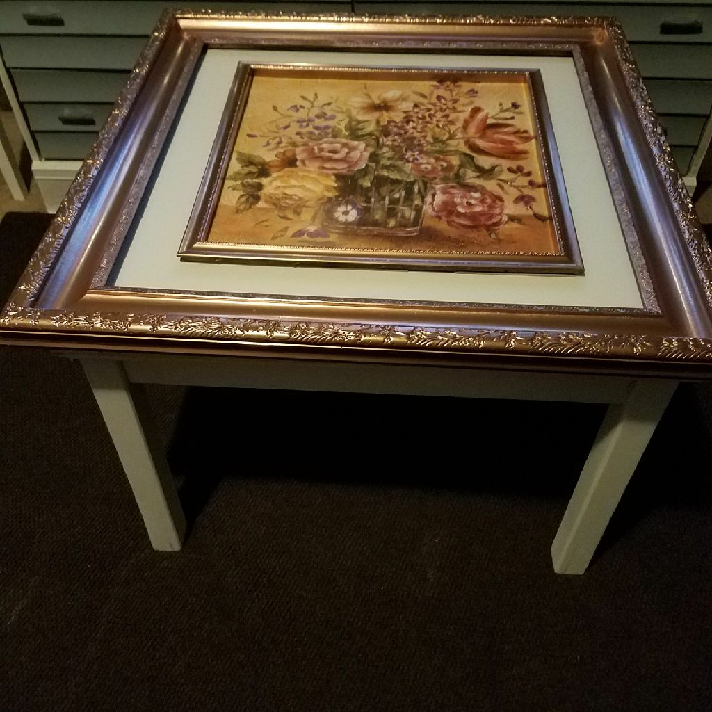 Home made crafty table