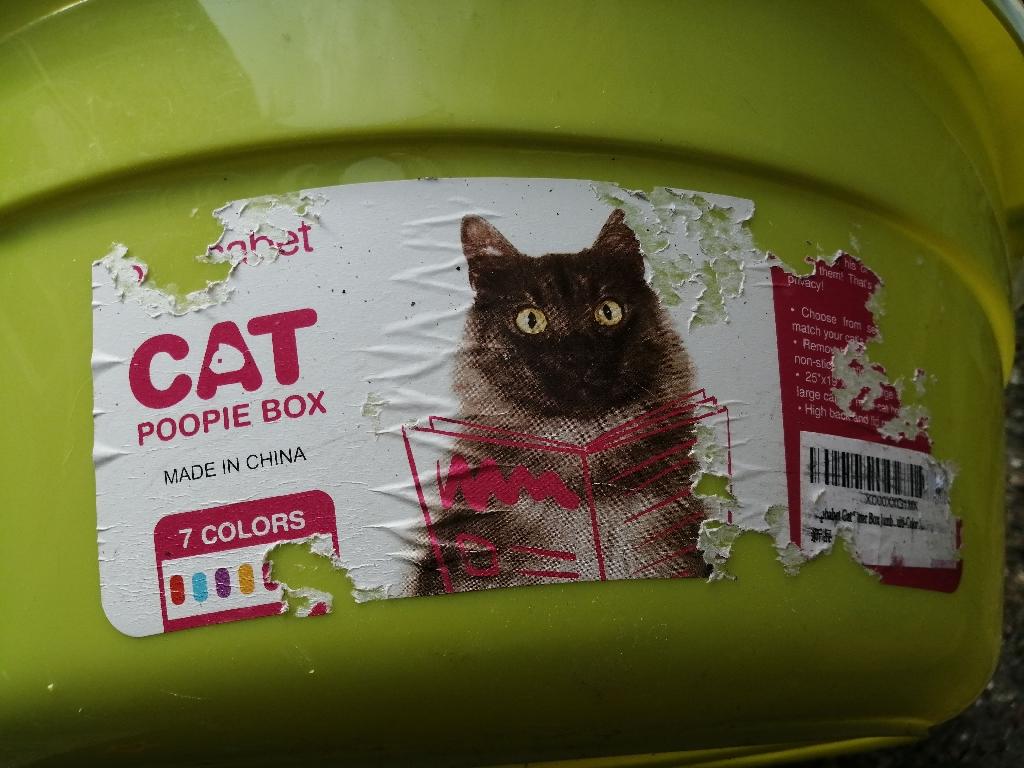 XL Cat Litter Tray