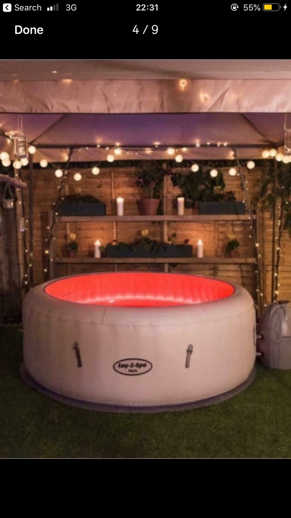 Hot Tub Hire Kidderminster West Midlands Lay Z Spa lazy Stourbridge