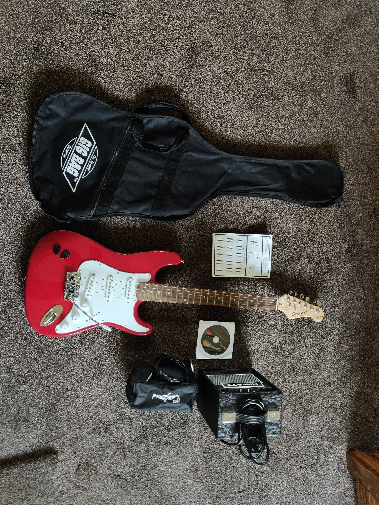 Tanglewood Electric Guitar Red