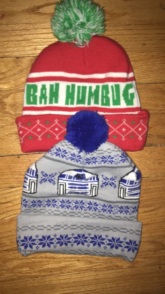 Pair of holiday hats