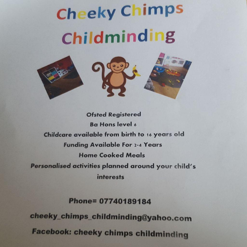 Registered childminder.