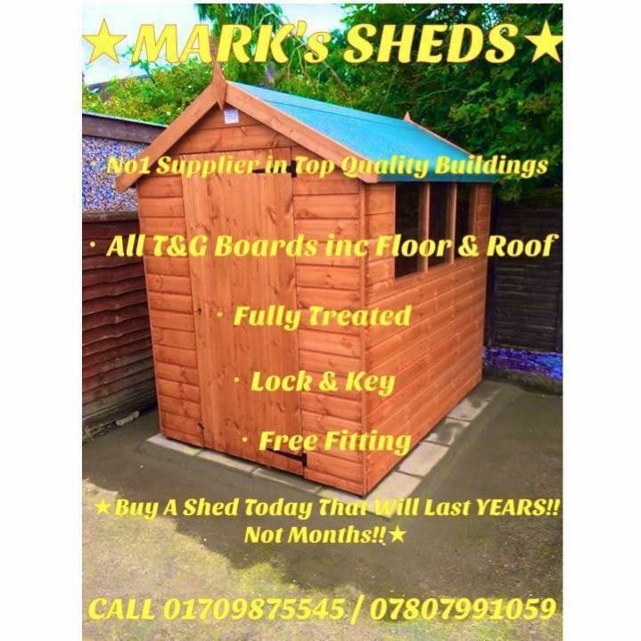 Sheds, Summerhouse's, Playhouse's etc