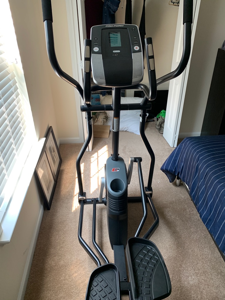 Like new Pro-Form 475 E Elliptical