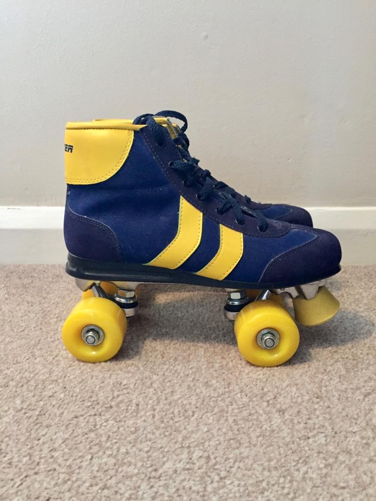 Blazer 2 Stripe Disco Quad Roller Skate