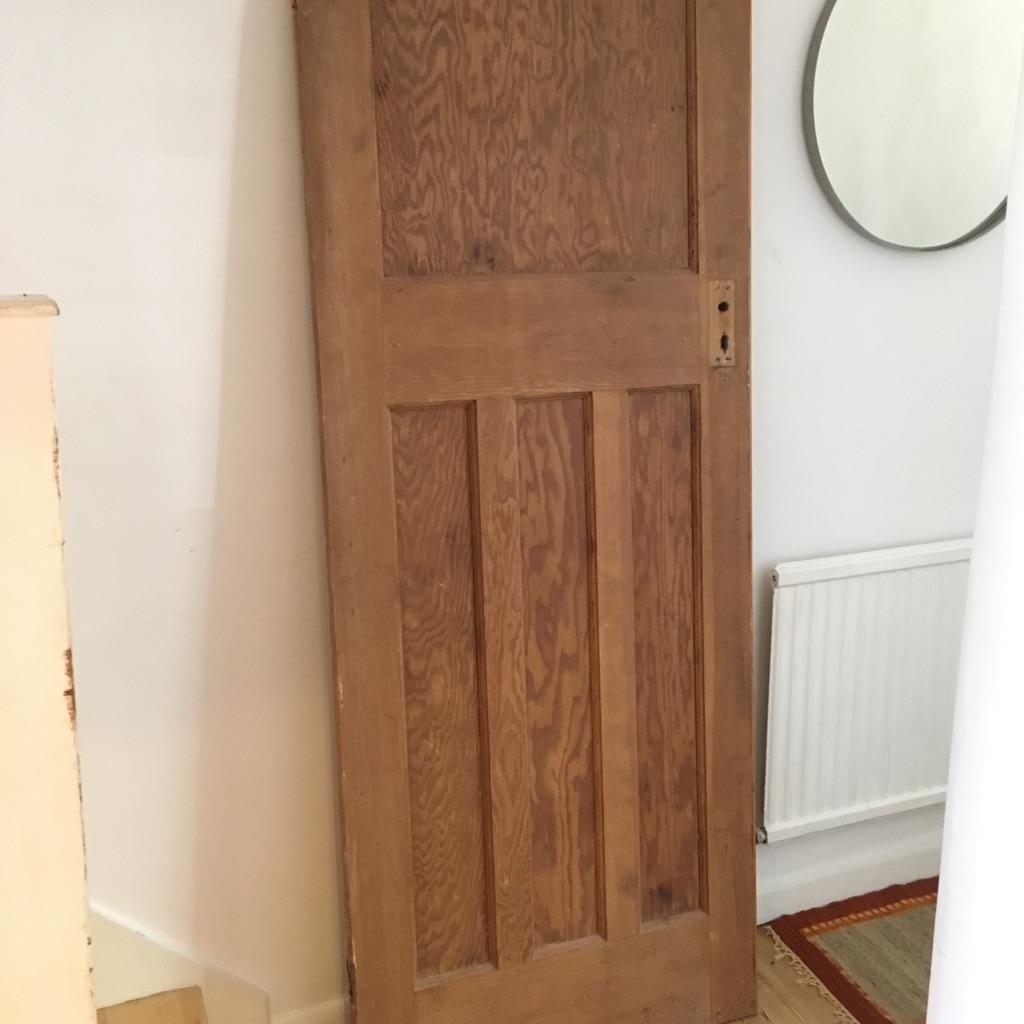 1930s solid internal door