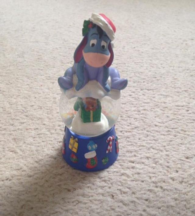 Disney Eeyore Christmas Globe