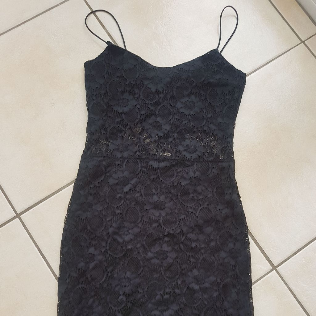 Black Lace dress size 6
