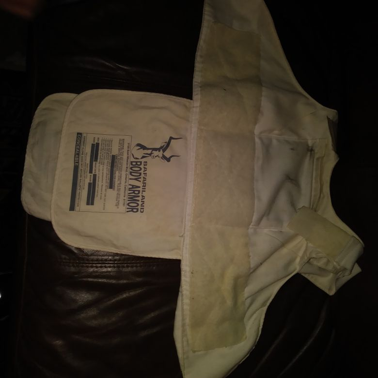 Safariland police issued Bulletproof vest