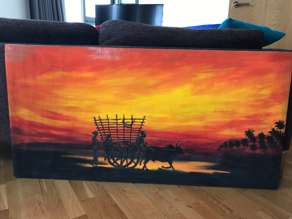 Sunset Canvas Oil Painting