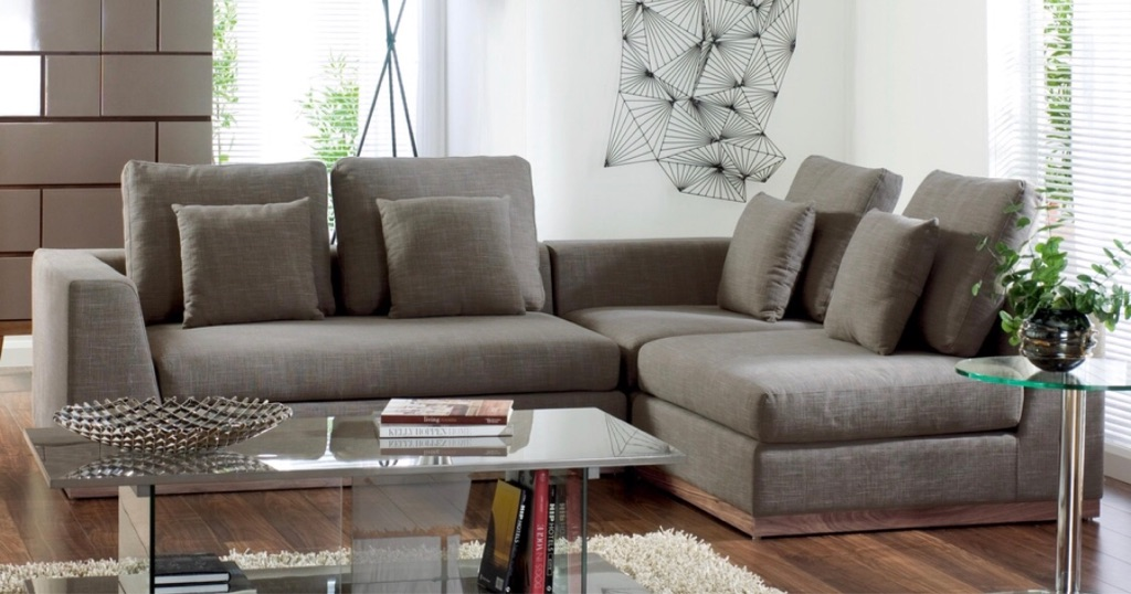 2 Dwell sofas for sale- Cushions included