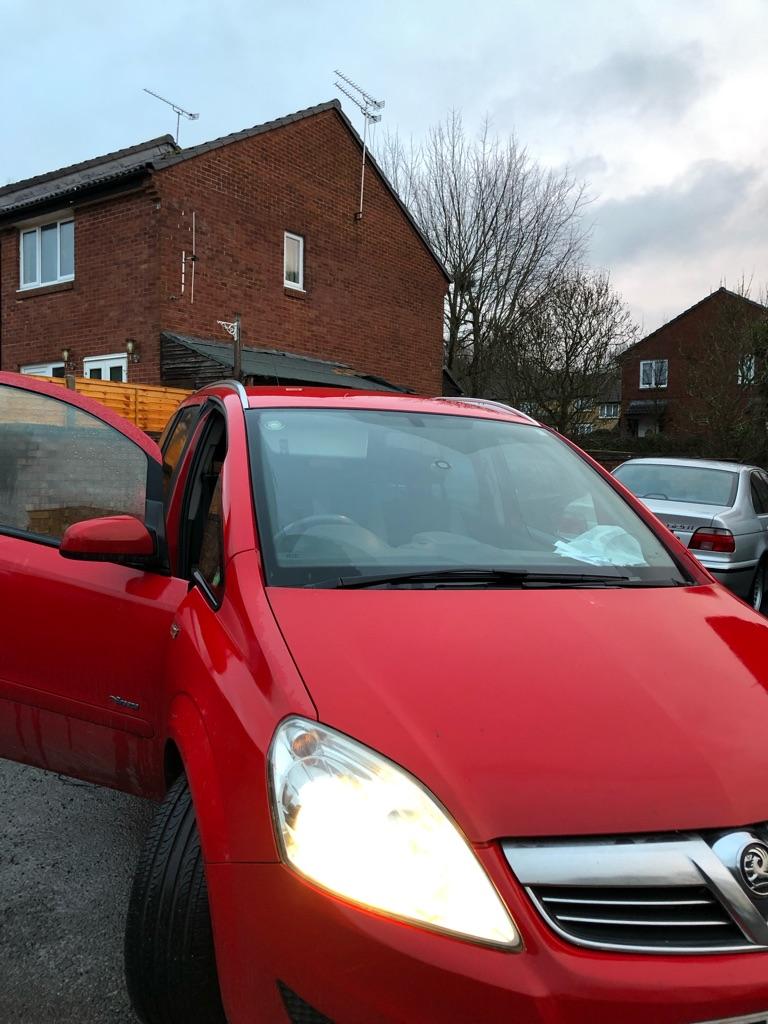 Vauxhall zafira breeze