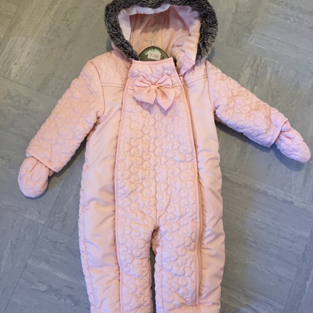 Mothercare snowsuit 12-18