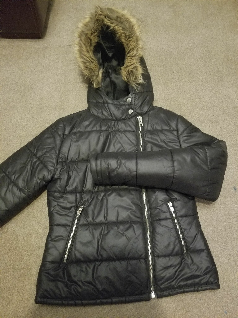 Parka jacket winter coat size 12