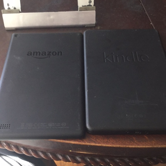 Kindle fire 1st and 7th generation tablets and wiko smartphone