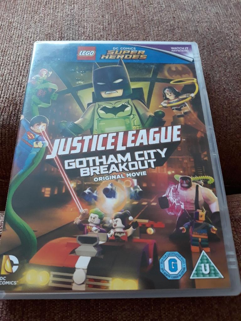 Gotham City Breakout dvd