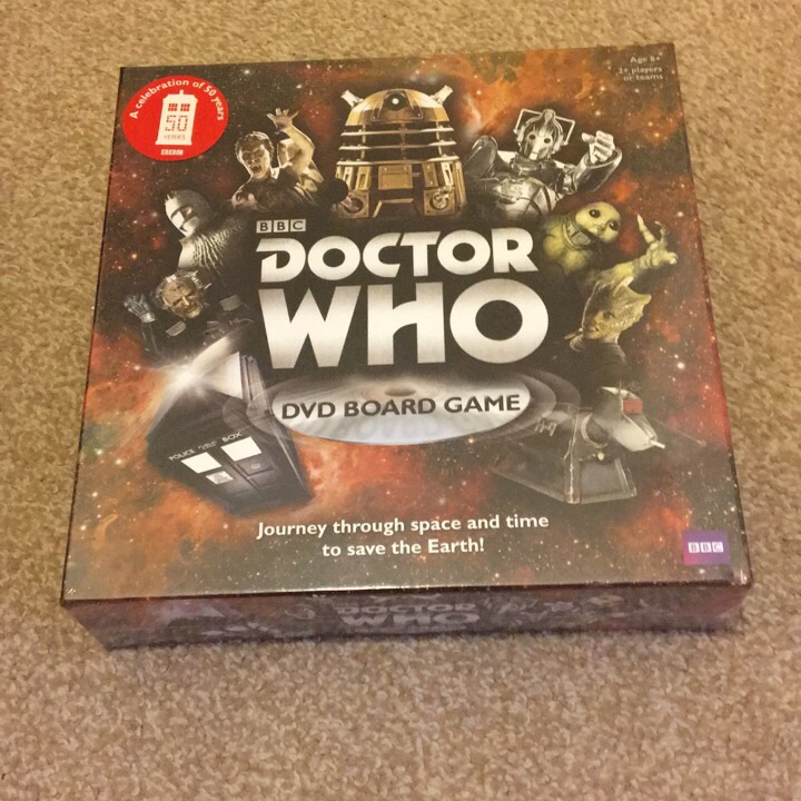 Dr Who DVD board game - brand new