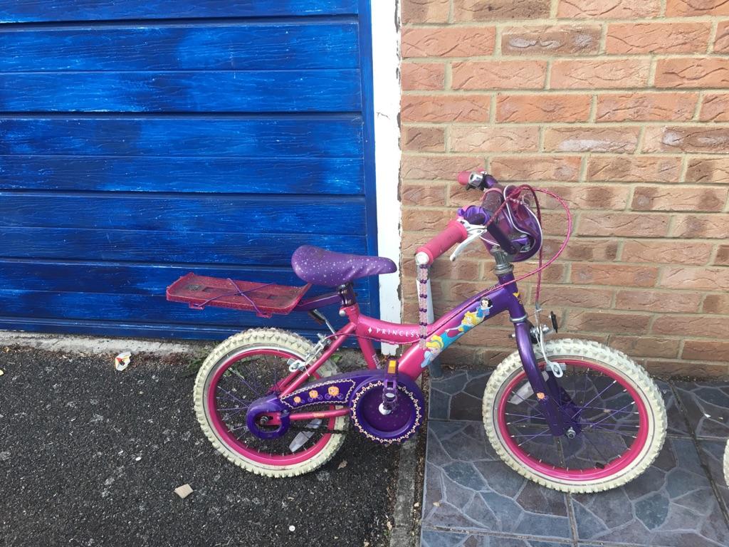 Girl's children's bike
