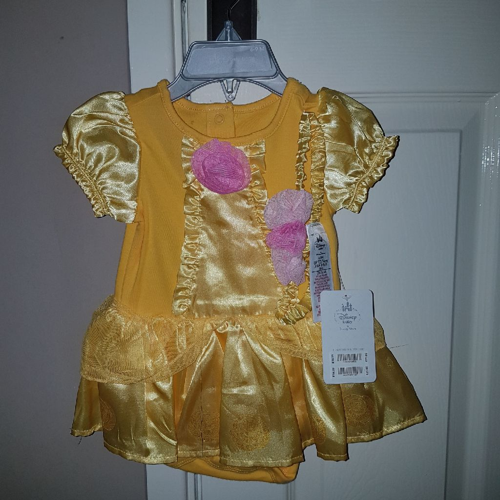 Belle costume 6 to 9 months