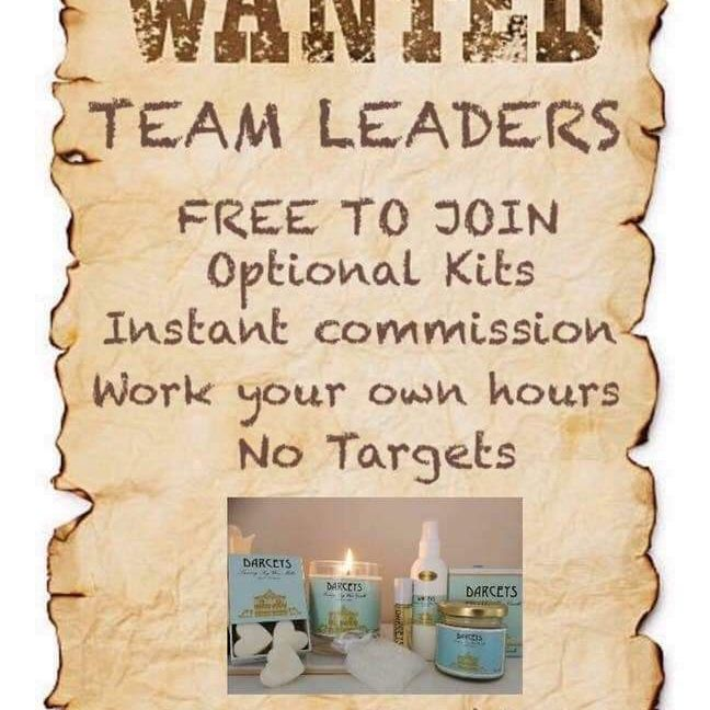 WANTED TEAM MEMBERS