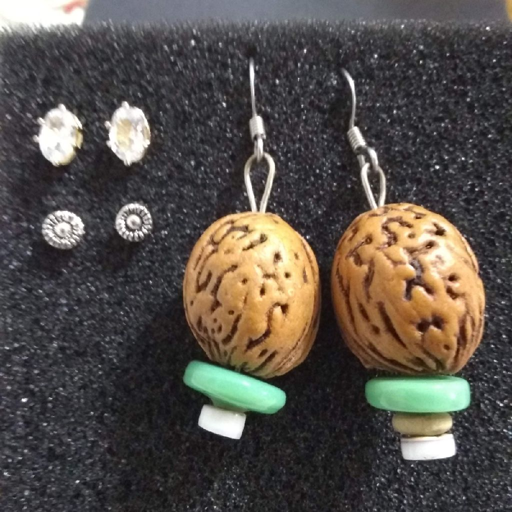 Set of 3 gorgeous earrings