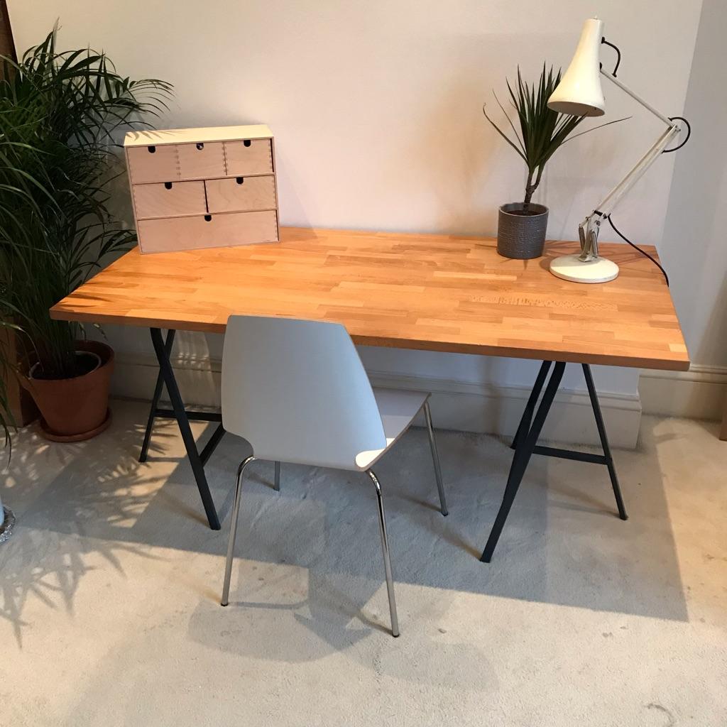 Solid beech desk