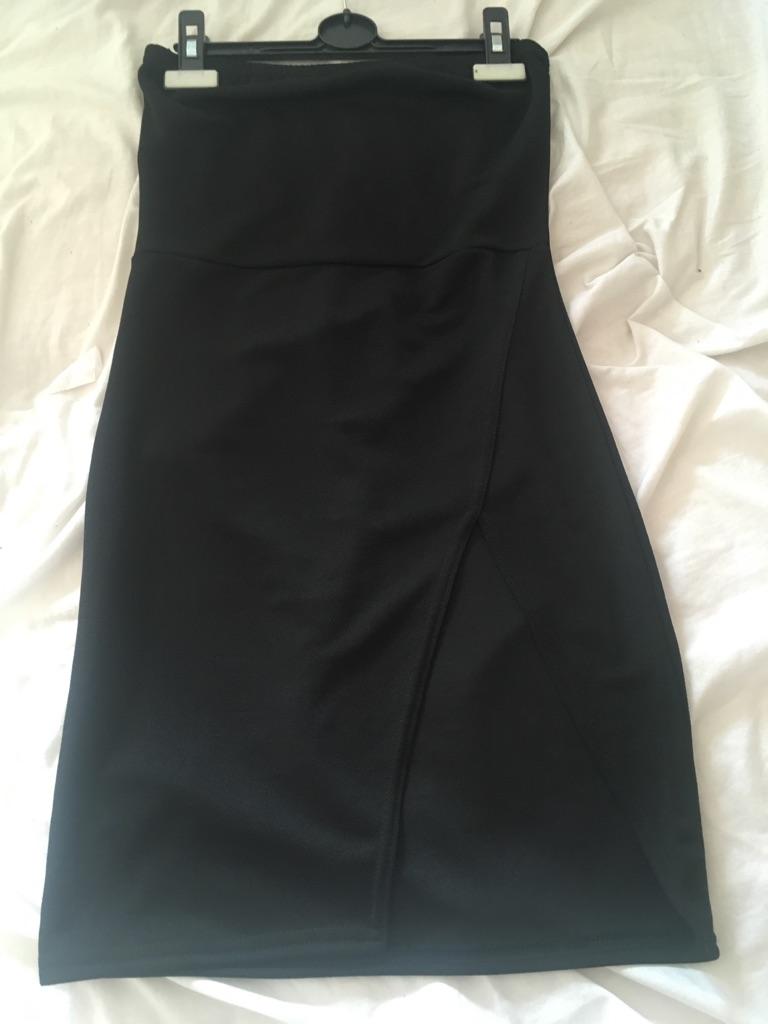 Size 8 split leg dress