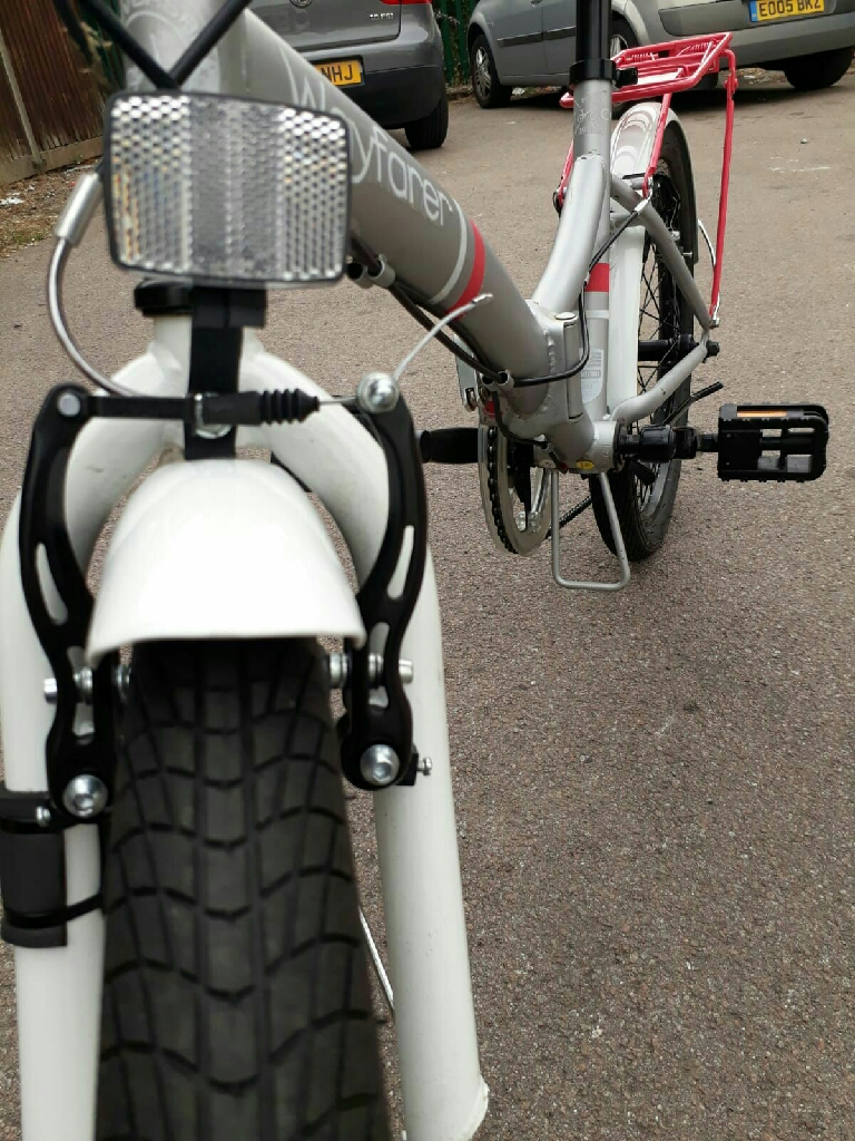 Universal Wayfarer Folding Bike + ACCESSORIES