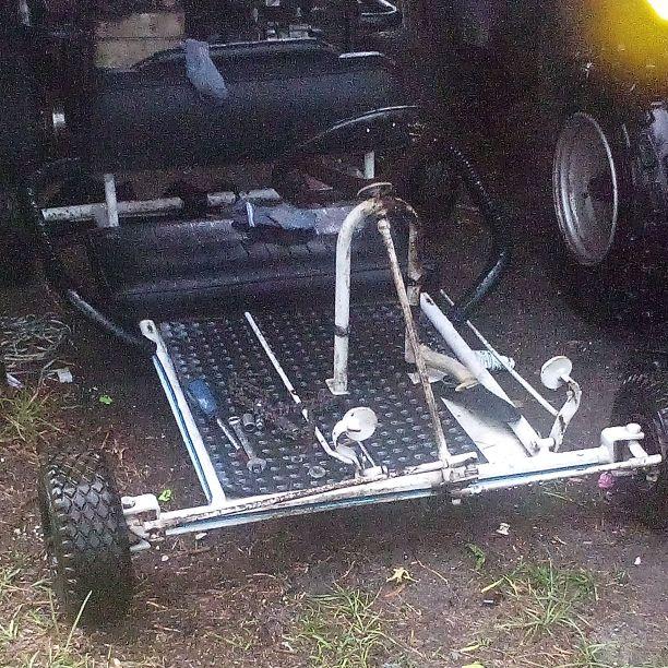 196 cc small 2 seater go kart