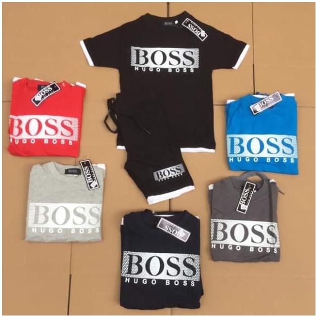 Boss Short Set