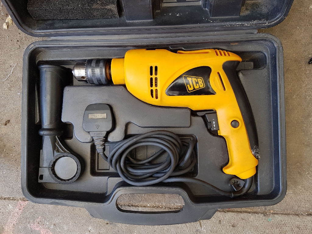 JCBD-HD2 IMPACT HAMMER DRILL WITH CASE