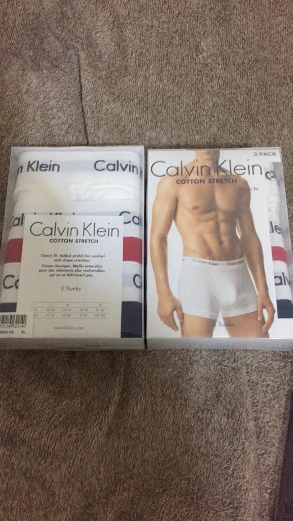 Calvin  underwears xl