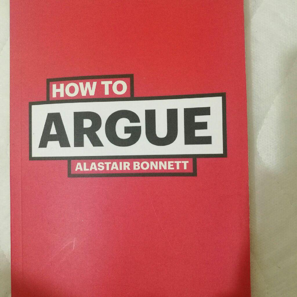 How to argue book