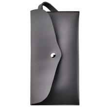 Glowii article leather multi-purpose makeup bag