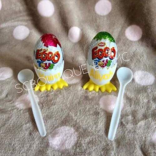 Personalised chocolate egg cups