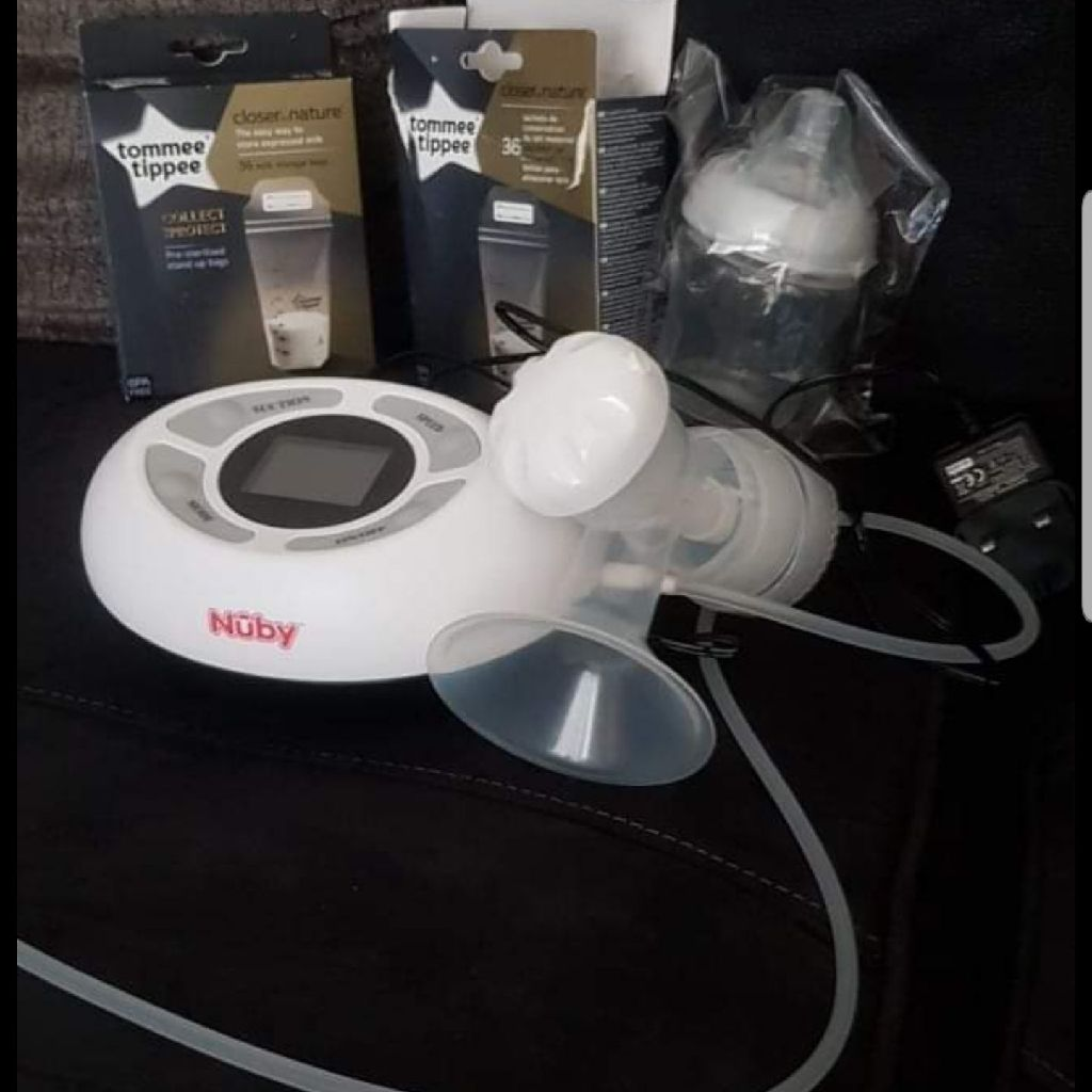 Nuby touch electric breast pump
