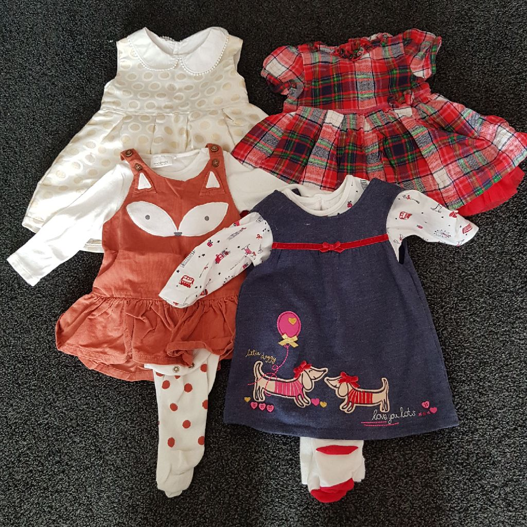 e970f5c8e 0-3 month Dress Bundle | Village