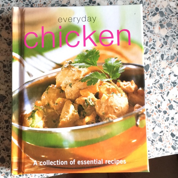 Chicken recipes book